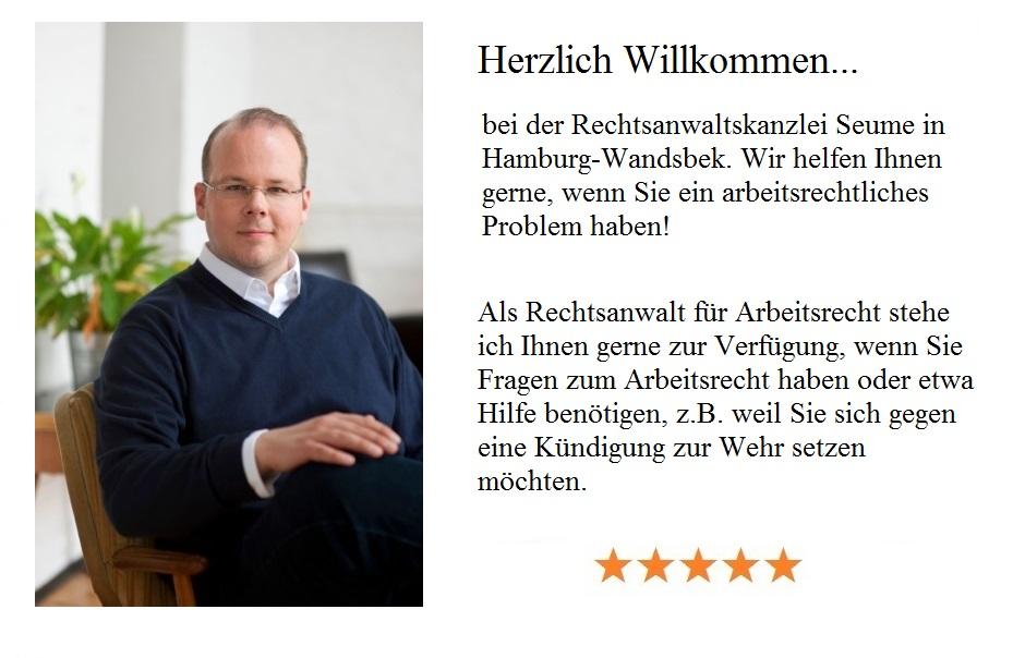Rechtsanwalt Für Arbeitsrecht Hamburg